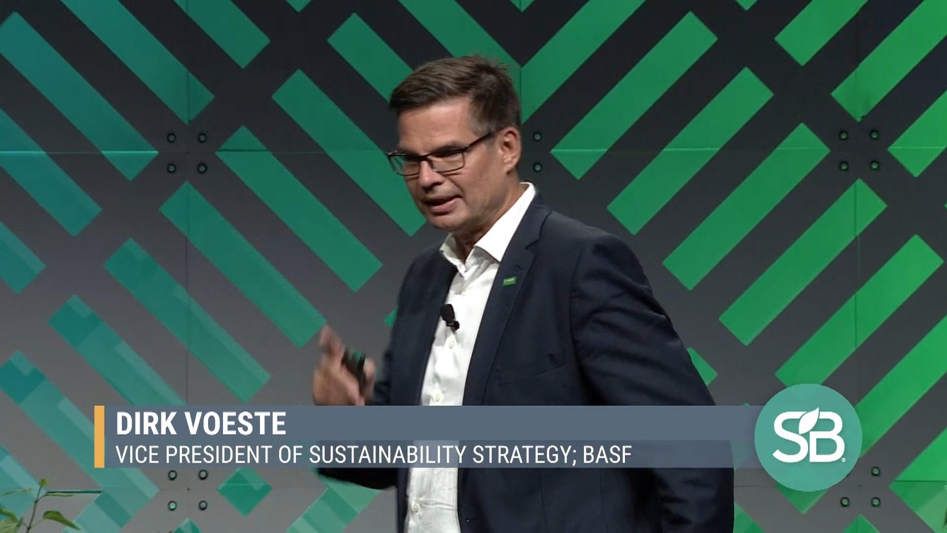 SB'19 Detroit Keynote / Dirk Voeste - Vice President of Sustainability Strategy, BASF