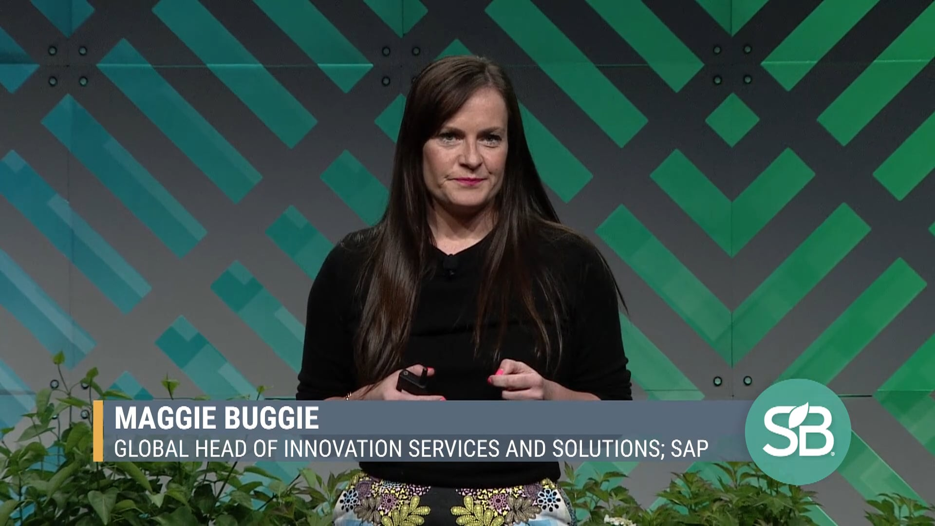 SB'19 Detroit Keynote / Maggie Buggie - Global Head of Innovation Services and Solutions, SAP
