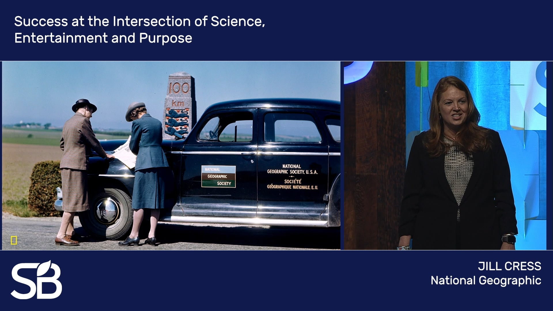 SB'18 Vancouver Keynote / Success at the Intersection of Science, Entertainment and Purpose