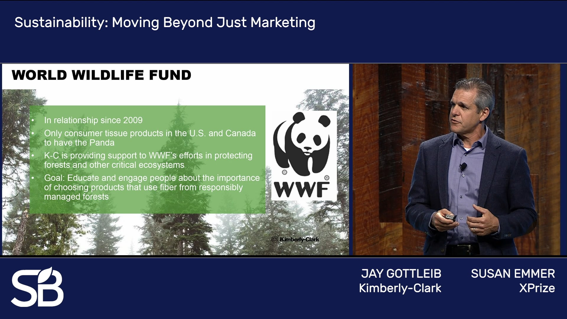 SB'18 Vancouver Keynote / Sustainability: Moving Beyond Just Marketing