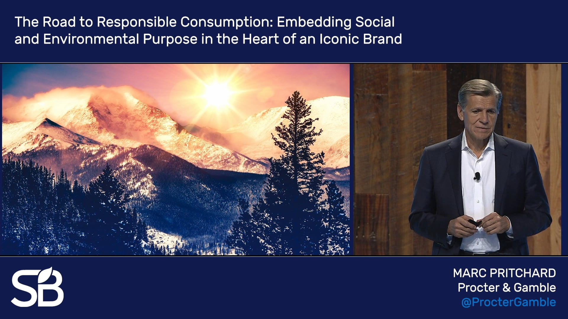 SB'18 Vancouver Keynote / The Road to Responsible Consumption: Embedding Social and Environmental Purpose in the Heart of an Iconic Brand