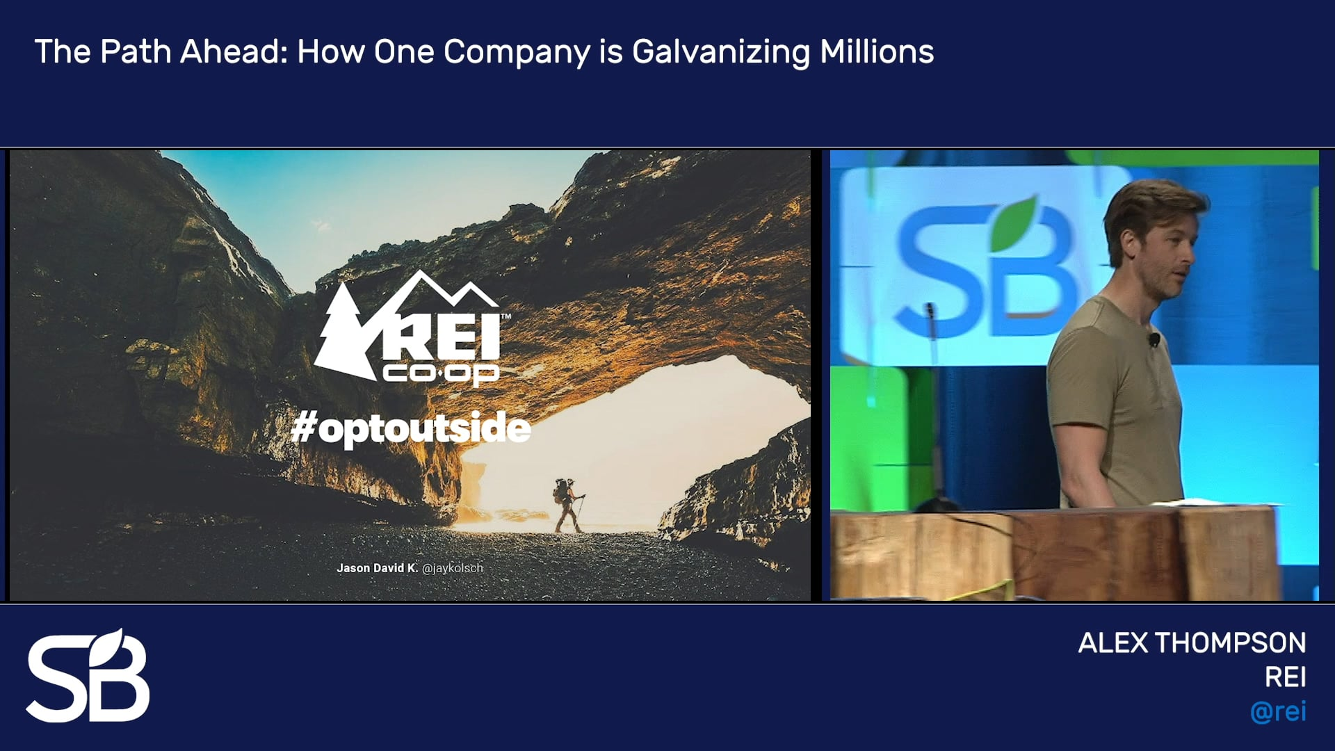 SB'18 Vancouver Keynote / The Path Ahead: How One Company Is Galvanizing Millions