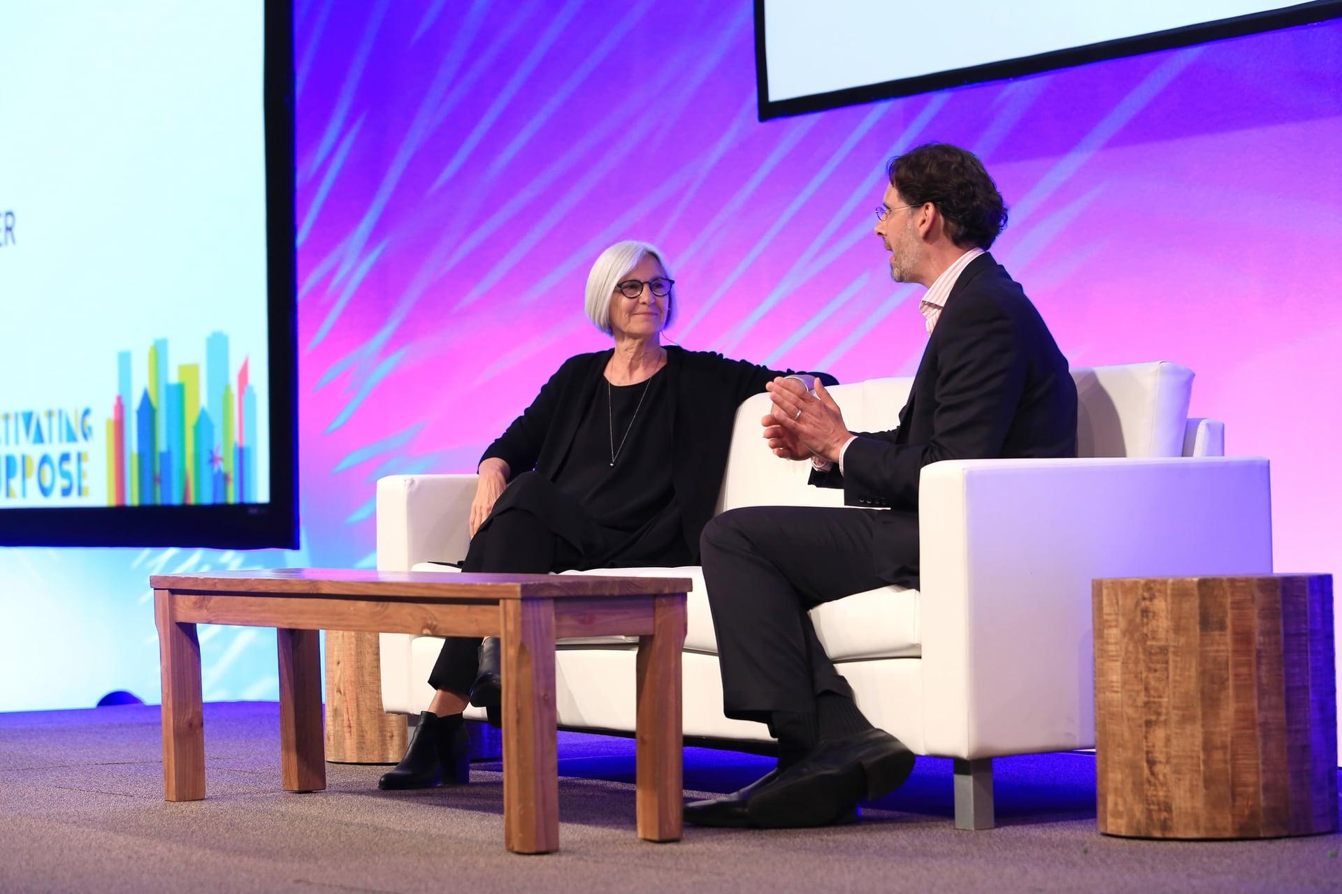 SB'16 San Diego Keynote / A Conversation with Eileen Fisher