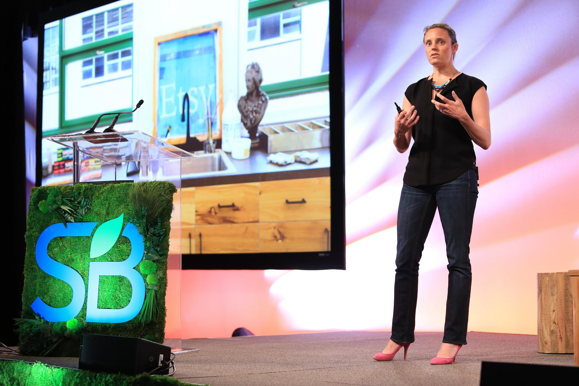 SB'16 San Diego Keynote / Transparency, Sustainability and Community Engagement: Etsy's Sustainability Journey and the Future of Production