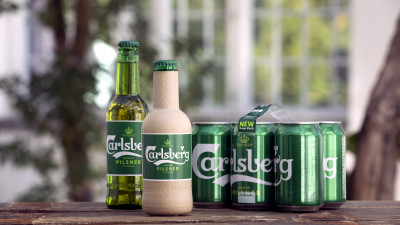 Absolut, Coca-Cola, L'Oreal Join Carlsberg's Efforts to Improve, Scale Paper Bottles
