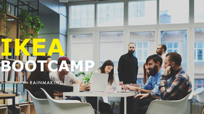 IKEA, Rainmaking Launch New Startup Accelerator Bootcamp