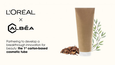 L'Oréal and Albéa Launch the First Paper-based Cosmetic Tube