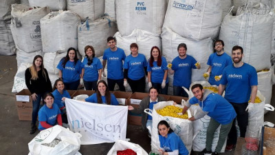 Nielsen Surpasses Volunteering Goal Early with 8th Annual Nielsen Global Impact Day