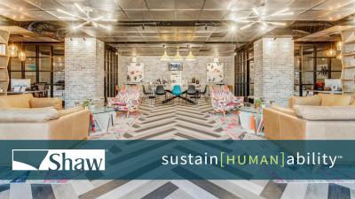 Shaw Showcases Sustainability Efforts at Greenbuild