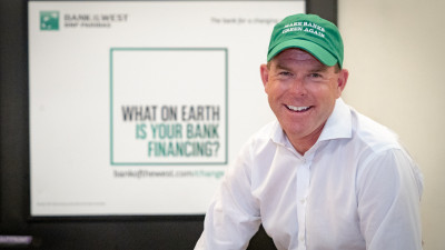 Bank of the West's CMO, Ben Stuart, wants everyone to ask what their bank is financing