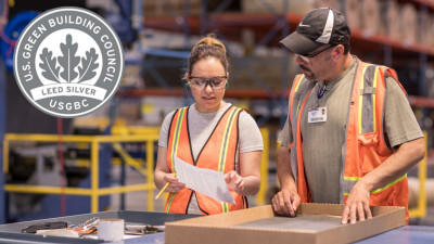 Shaw Carpet Tile Manufacturing & Recycling Facility Achieves LEED Certification