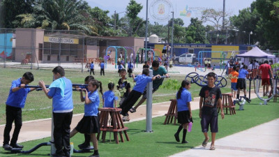 Gildan Donates $570,000 to Refurbish Majoncho Sosa Community Park in Honduras