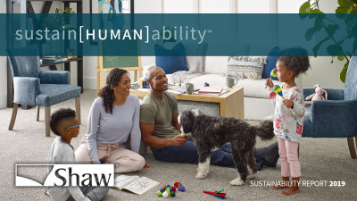 Shaw Industries Advances sustain[HUMAN]abilityTM Efforts
