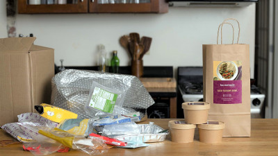 Please Hold the Packaging: Creating a No-Landfill Meal Kit