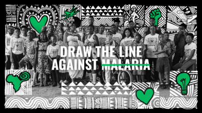 Dentsu International partners with Malaria No More UK to 'Draw the Line Against Malaria'