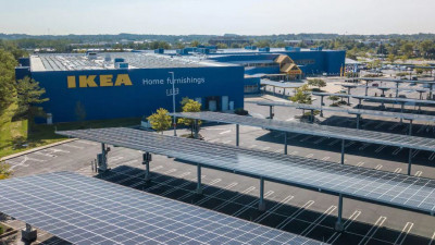 IKEA Retail U.S. opens its first solar car park in Baltimore, announces plans for seven more