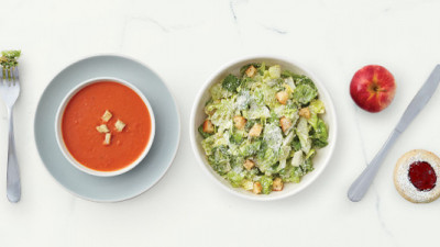 Panera Bread® Unveils Nation's Largest Clean Kids' Menu, Challenges Fast Food CEOs to Eat from Their Own
