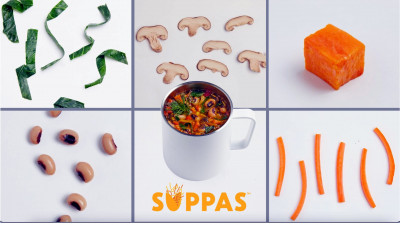 Startup Aiming to Redesign Food Industry, One Plant-Based 'Suppa' at a Time