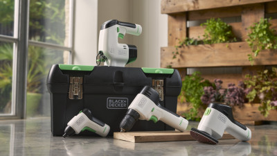 Stanley Black & Decker and Eastman partner to create power tools with a sustainable focus