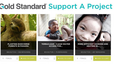 Gold Standard Unveils New Label, Carbon Credit Shop to Help Companies, Consumers Deliver SDGs