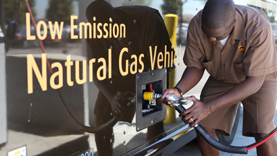 UPS Ramps Up Use of Renewable Natural Gas to Deliver on 2025 Sustainability Goals