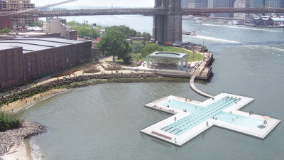 + POOL, Heineken Pooling Their Resources to Help Make the Hudson River Swimmable Again