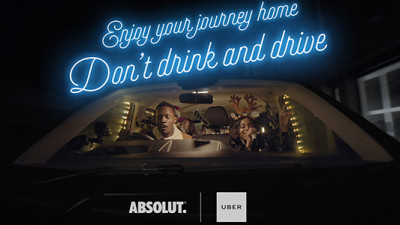 Uber Encourages Partygoers to Celebrate Responsibly in New Social Campaigns