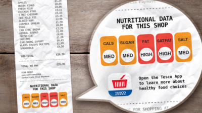 How Supermarkets Can Help Fight Obesity, One Receipt at a Time