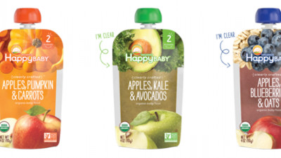 Happy Family Providing Full Transparency With New Clear Baby Food Pouches