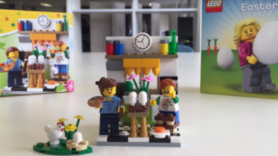Tesco Celebrating Easter With Responsible Cocoa, Exclusive LEGO Toy