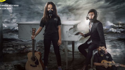 Vietnamese Artists, 350.org Partner on Apocalyptic Anti-Coal Campaign