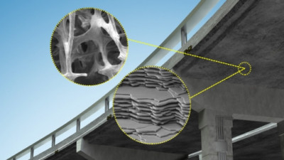MIT Researchers Look to Bones, Sea Sponges as Blueprints for Stronger Concrete