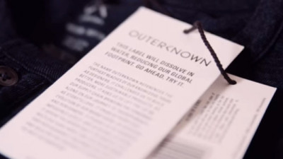 Avery Dennison, Outerknown Partner to Make More Sustainable Care Tags