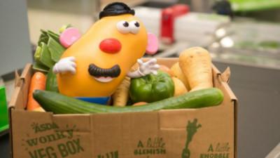 Mr Potato Head Helps Hasbro, Asda Raise Awareness of Wonky Veg, Food Waste