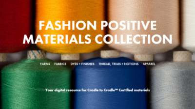 Portfolio of Cradle to Cradle Certified Materials Launched for the Fashion Industry