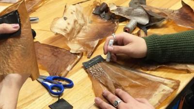 Trending: Cow Dung, Kombucha Bio-Textiles Bring 'Trashion' to a Whole New Level