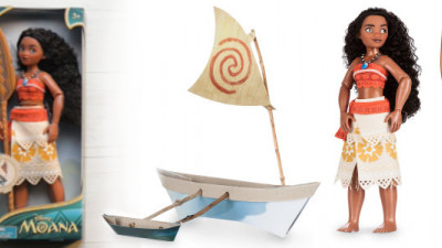 Disney Thought 'Outside the Box' for Its New Moana Doll, Challenges Families to Do the Same