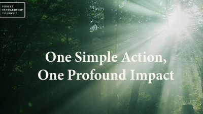 One Simple Action: How FSC, Kimberly-Clark Are Engaging Consumers in Sustainable Forestry