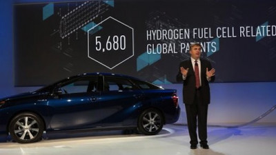 Toyota Opens Up 5,680 Patents to Spur Hydrogen Fuel Cell Innovation