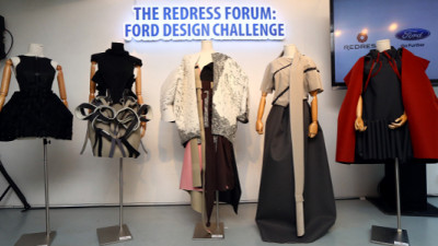 Ford Challenges 10 Designers to Transform Its Seat Covers Into Couture for Hong Kong Fashion Week