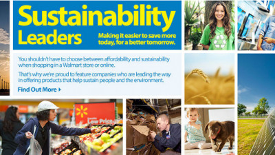 Walmart.com Launches New Shop to Help Shoppers Find and Support Sustainability Leaders