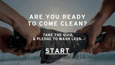 Levi's Has Saved 1B Liters of Water Through Its Water<Less Process — Now It's Asking You to Wash Less