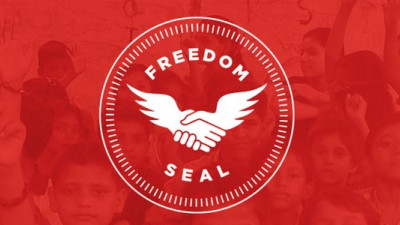 Trafficking Survivor Launches 'Freedom Seal' to Help Businesses Fight Modern-Day Slavery