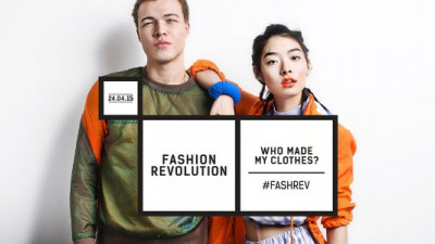 Fashionistas Around the World to Demand Industry Clean Up Its Act on Fashion Revolution Day 2015