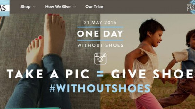 This year, TOMS' One Day Without Shoes Campaign Allows You to Donate Shoes for Free