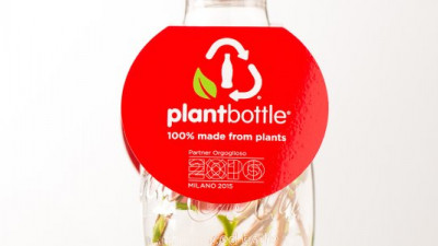 Coke Unveils World's First Entirely Plant-Based PET Bottle