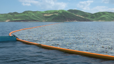 The Ocean Cleanup Sets Course for World's Largest Landfill — On Water