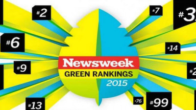 Healthcare Firms Top 2015 Newsweek Green Rankings