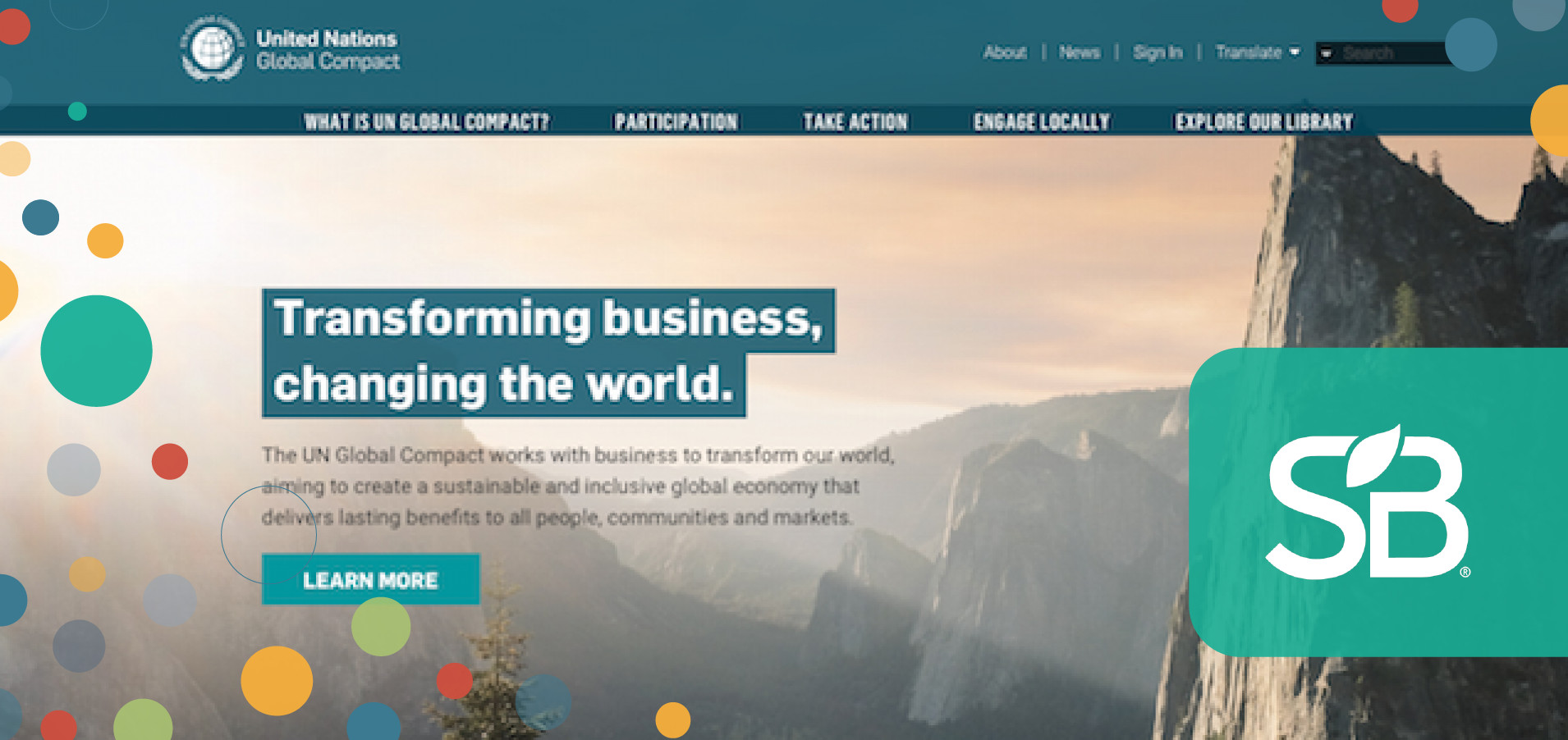 UN Global Compact Unveils Website to Spur Sustainable Business