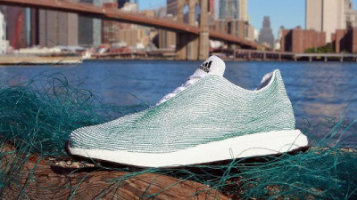 adidas, Parley for the Oceans Unveil First Footwear Made from Upcycled Ocean Waste